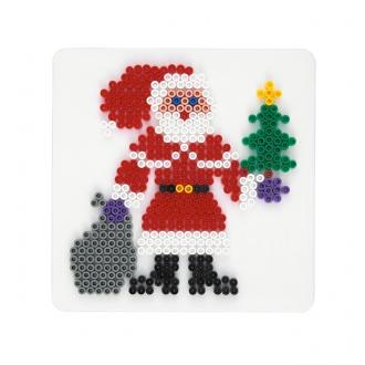ハマビーズクリスマス サンタクロース