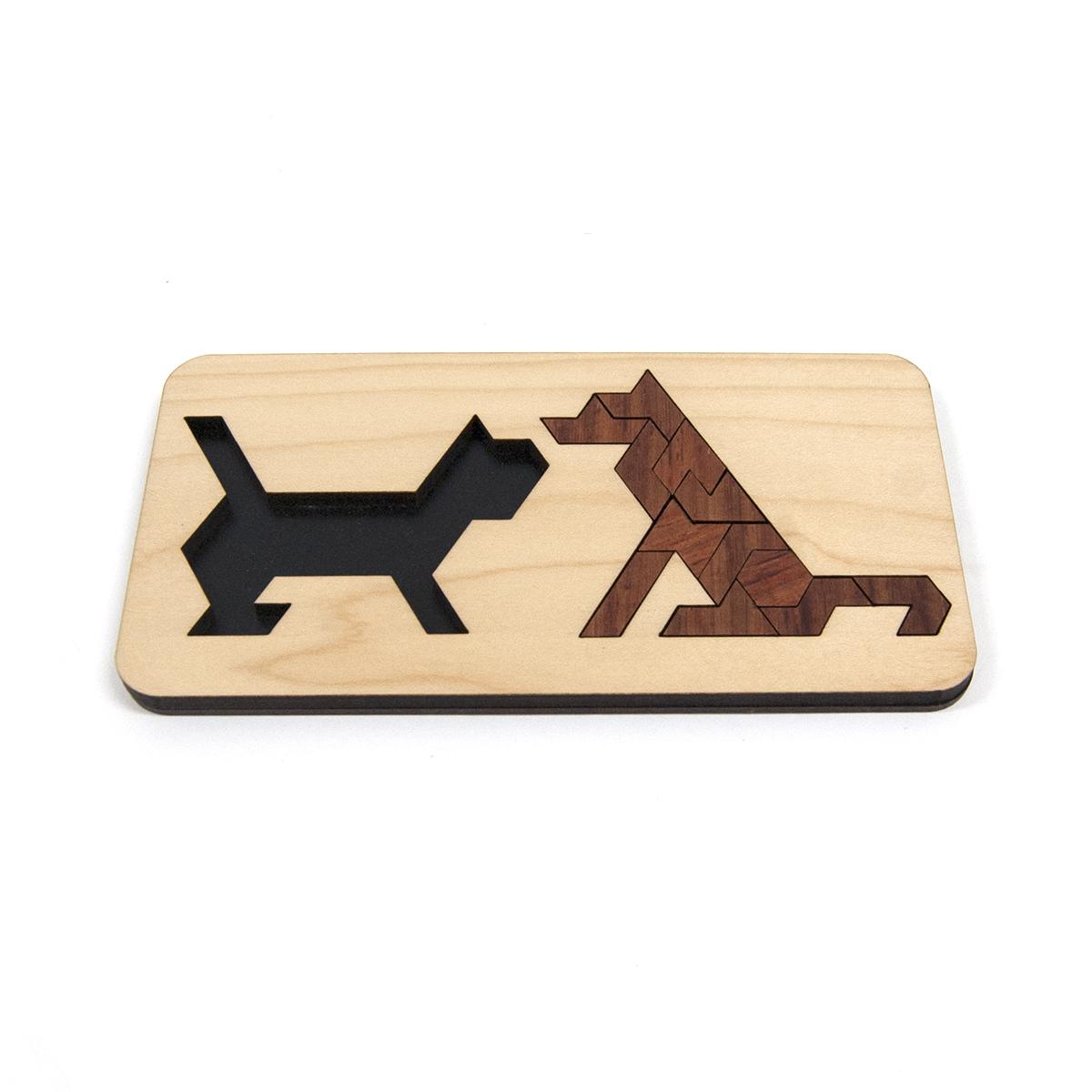 フレームパズル イヌ&ネコ