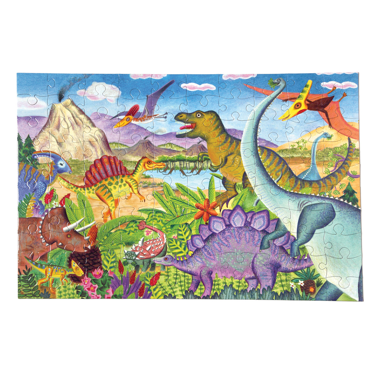 100ピースパズル 恐竜の世界