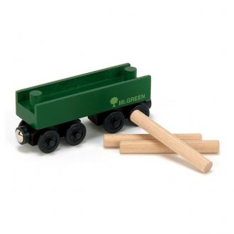 木材運搬車マウントグリーン