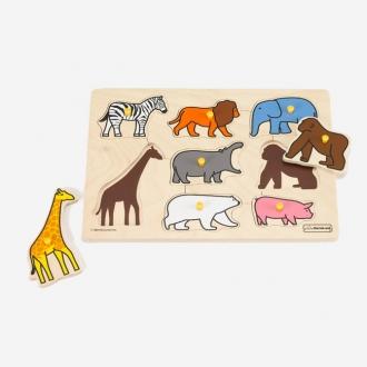 ピックアップパズル 動物園