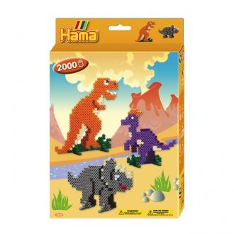 ハマビーズ 恐竜のせかい