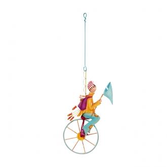 「風に乗った自転車」 魚つりの少年