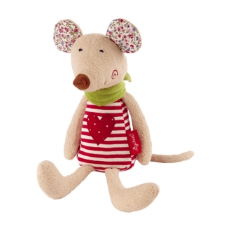 ピュア・オーガニック ねずみの抱き人形
