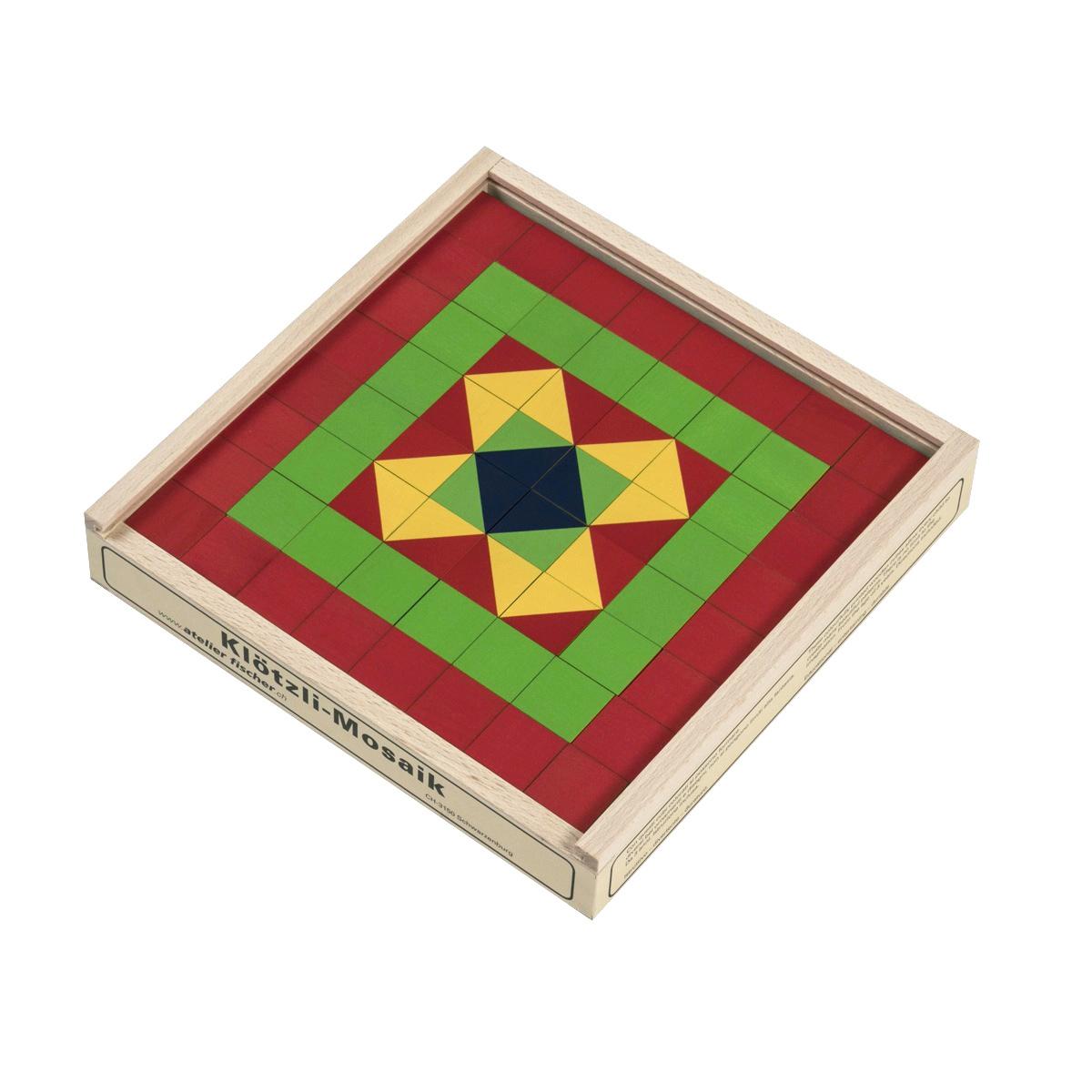 キュービックパズル カラーモザイク 64ピース