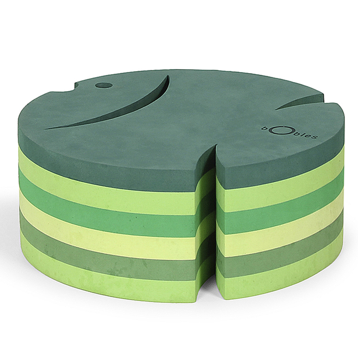 ボブルス サカナ h=12cm マルチグリーン