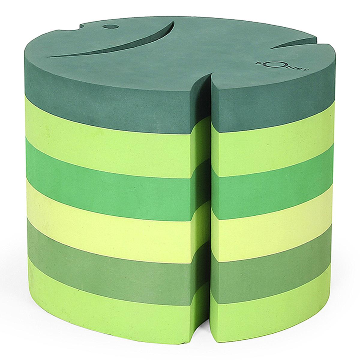 ボブルス サカナ h=24cm マルチグリーン