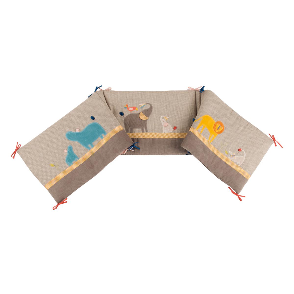 「Les Papoum」ベッドサイドパネル