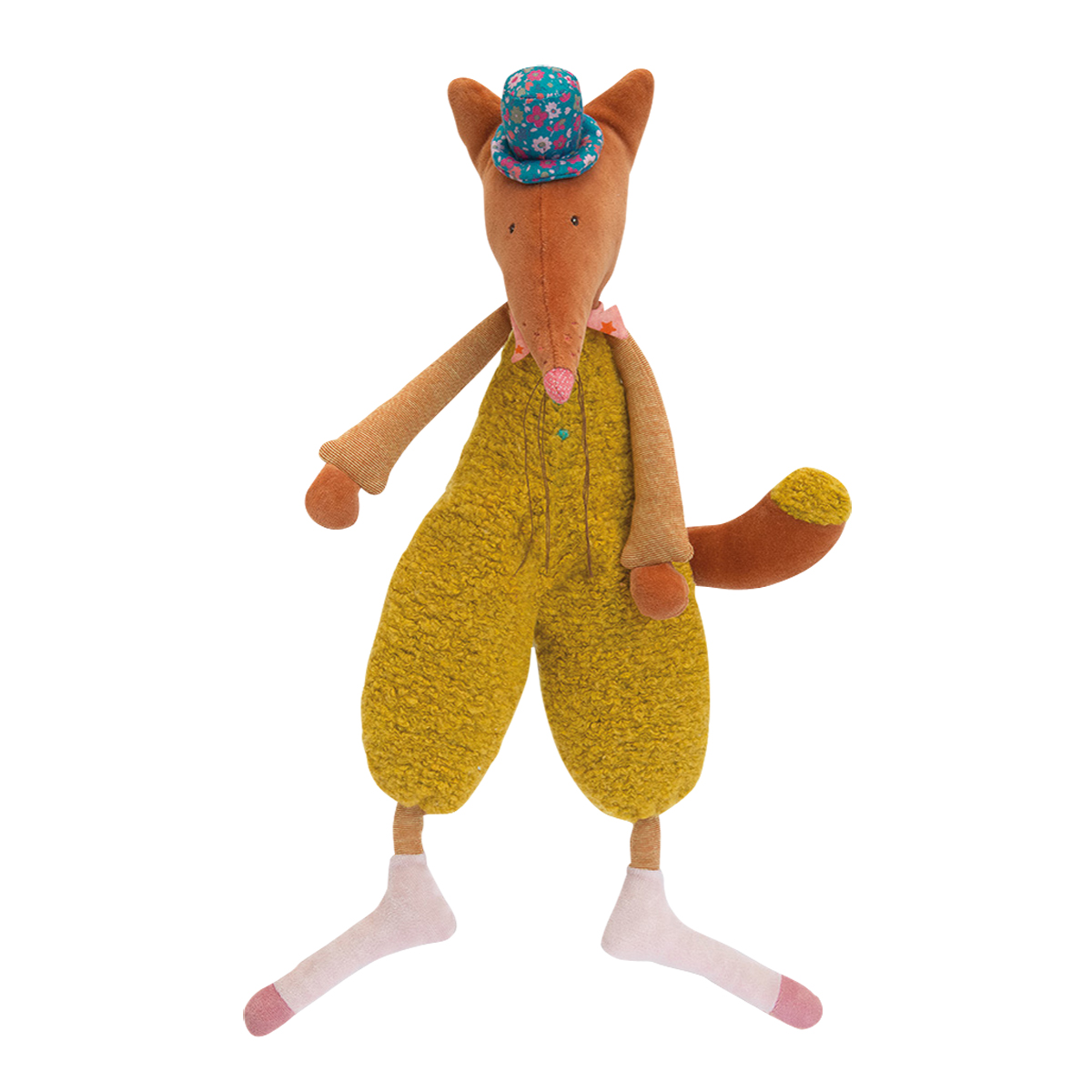 「タルタンポア」抱き人形・きつねのデデ