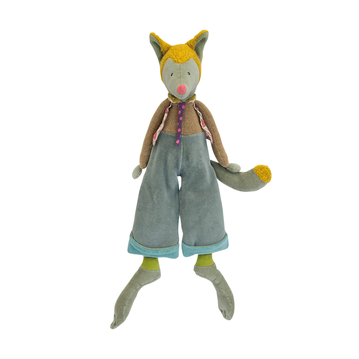 「Les Tartempois」抱き人形・オオカミのルゥルゥ