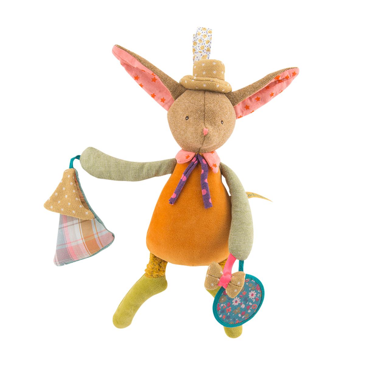 「Les Tartempois」アクティビティ・トーイ ウサギのララ