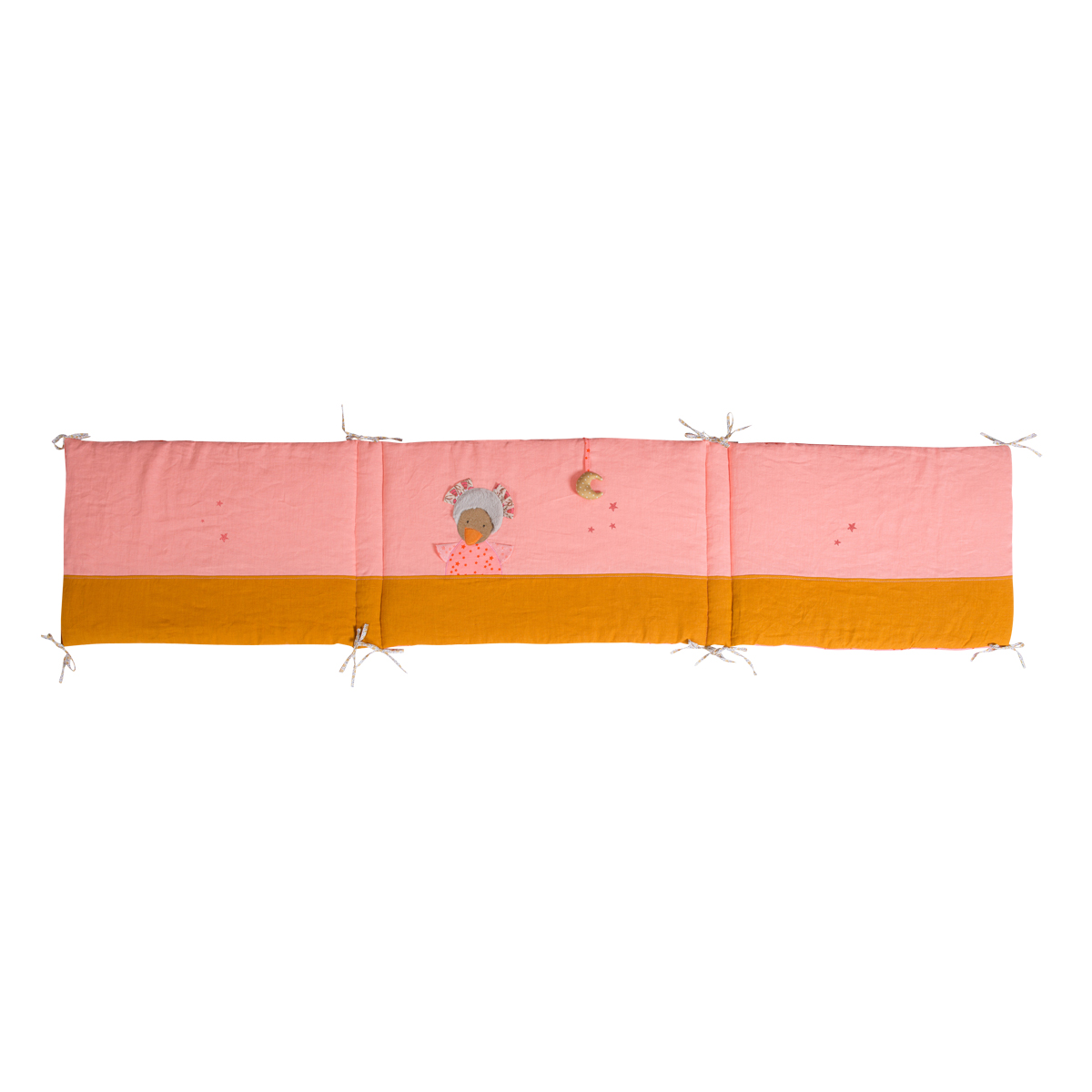 「Les Tartempois」ベッドサイドパネル(ピンク)