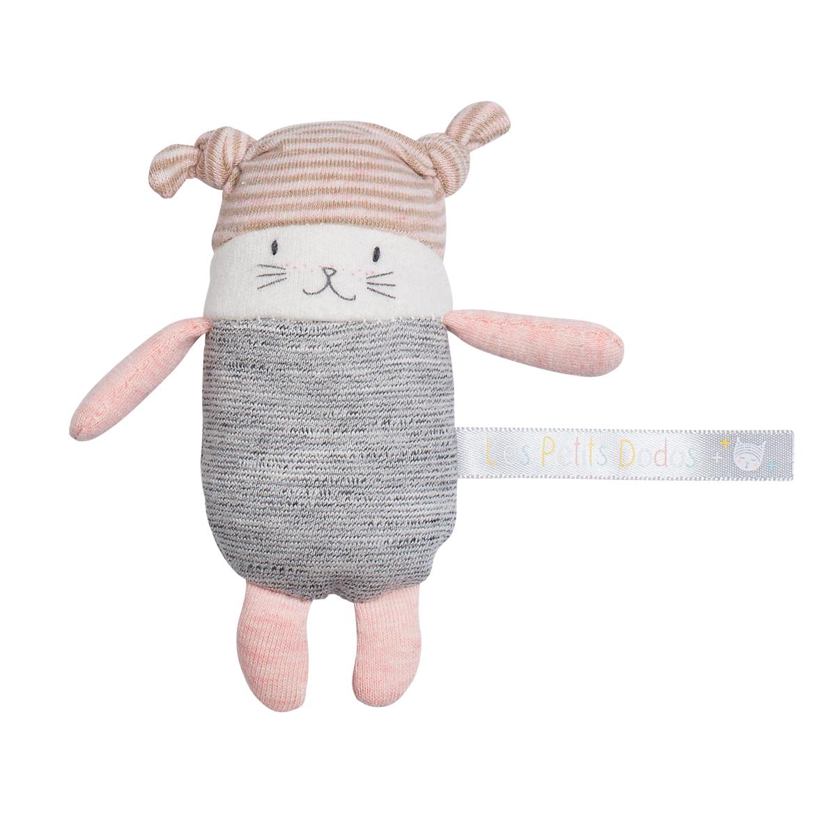 「Les PetitDodos」リトルドゥドゥ しましま帽子(ピンク)