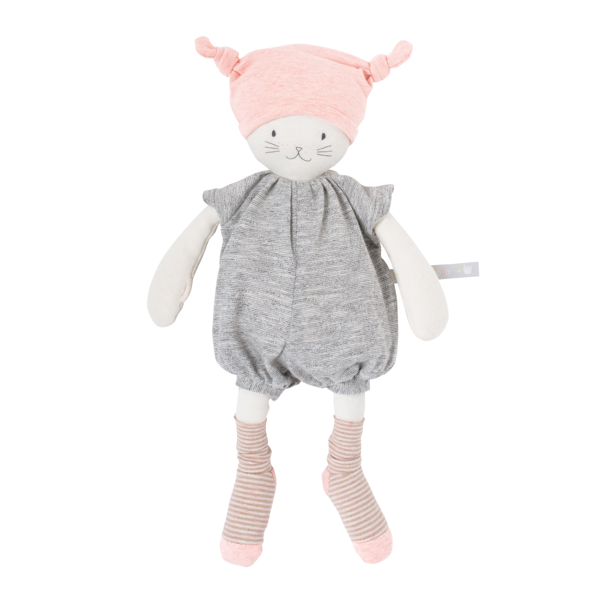 「Les PetitDodos」抱き人形ピンクの帽子の妖精