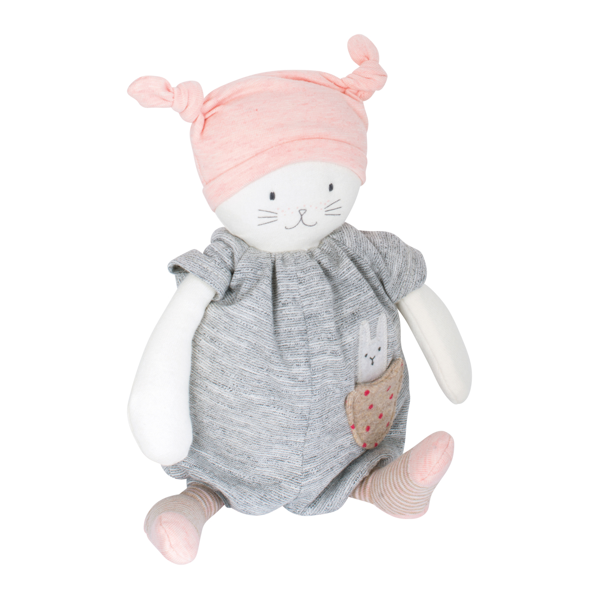 「Les PetitDodos」オルゴール ピンク帽子の妖精