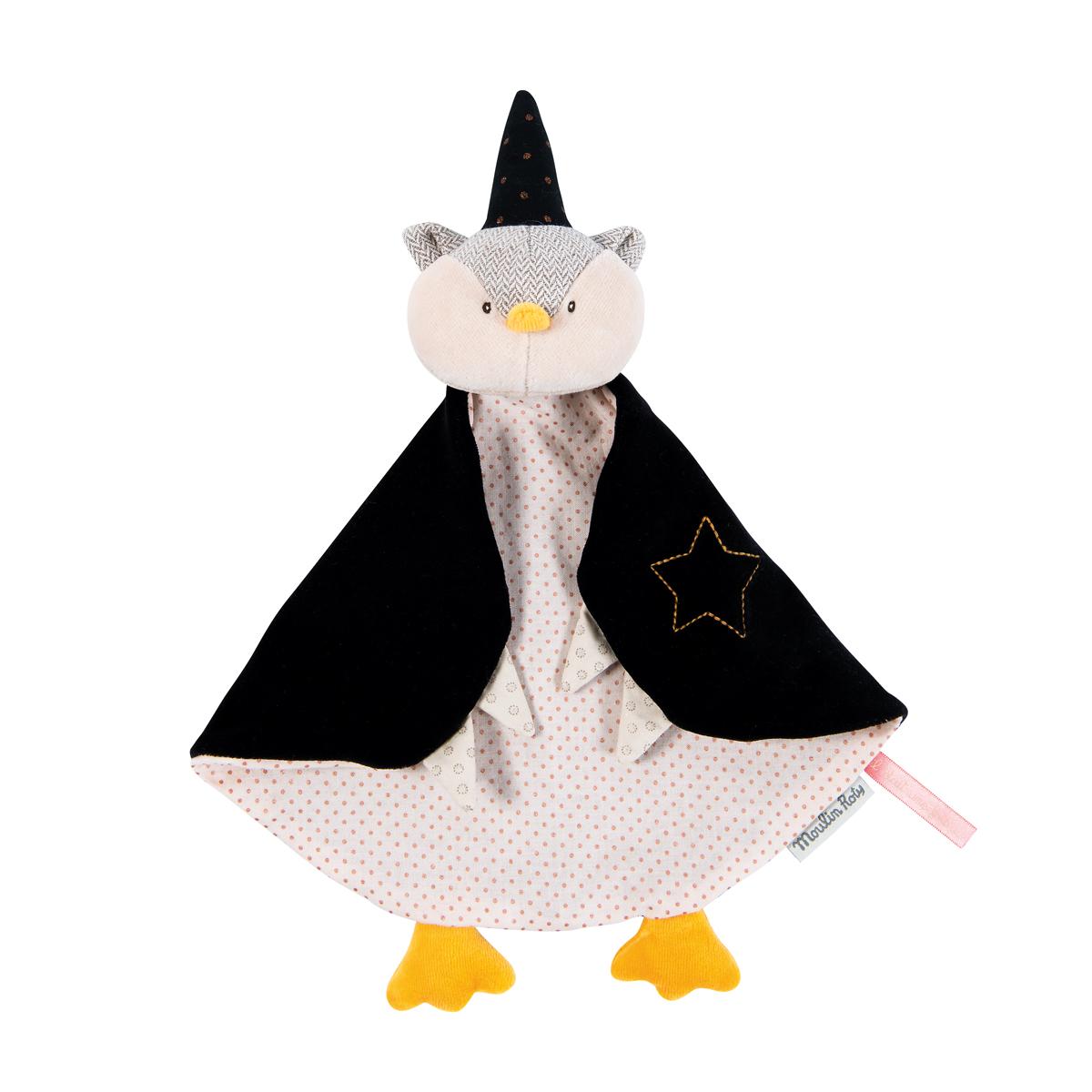 【再入荷時期未定】「ワンス・アポン・ア・タイム」フクロウのおしゃぶりタオル
