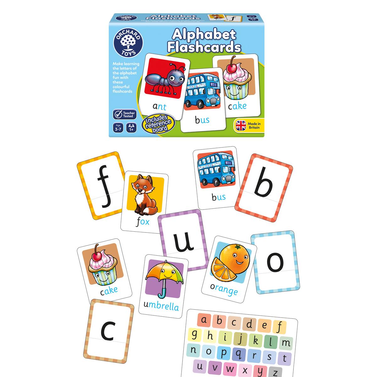 アルファベットフラッシュカード