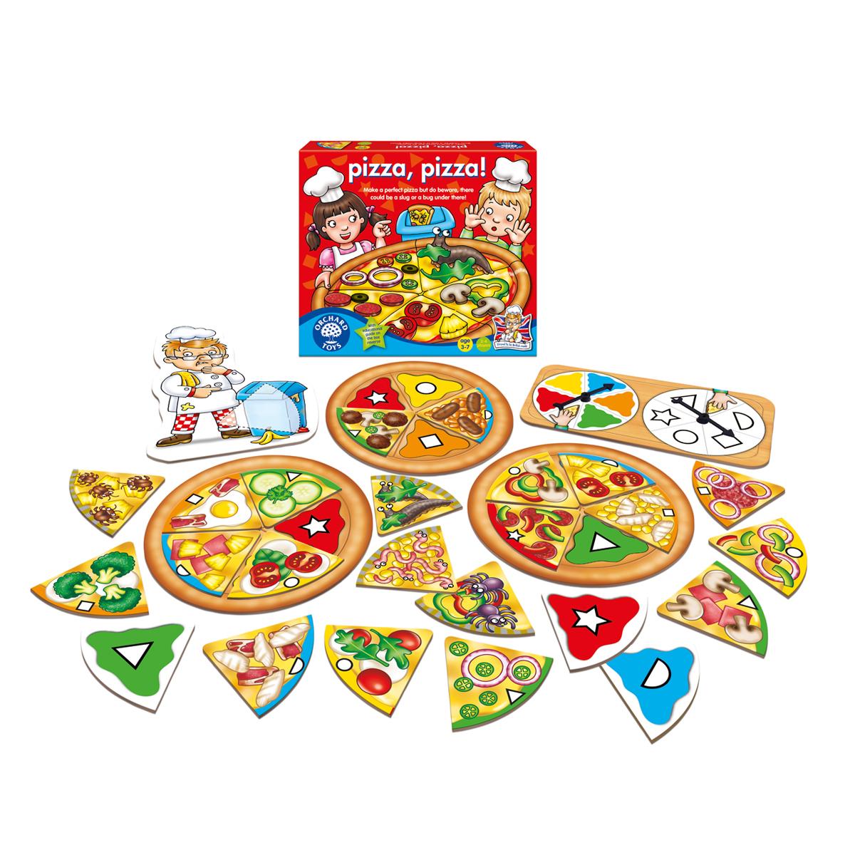 マッチングゲーム Pizza,Pizza!
