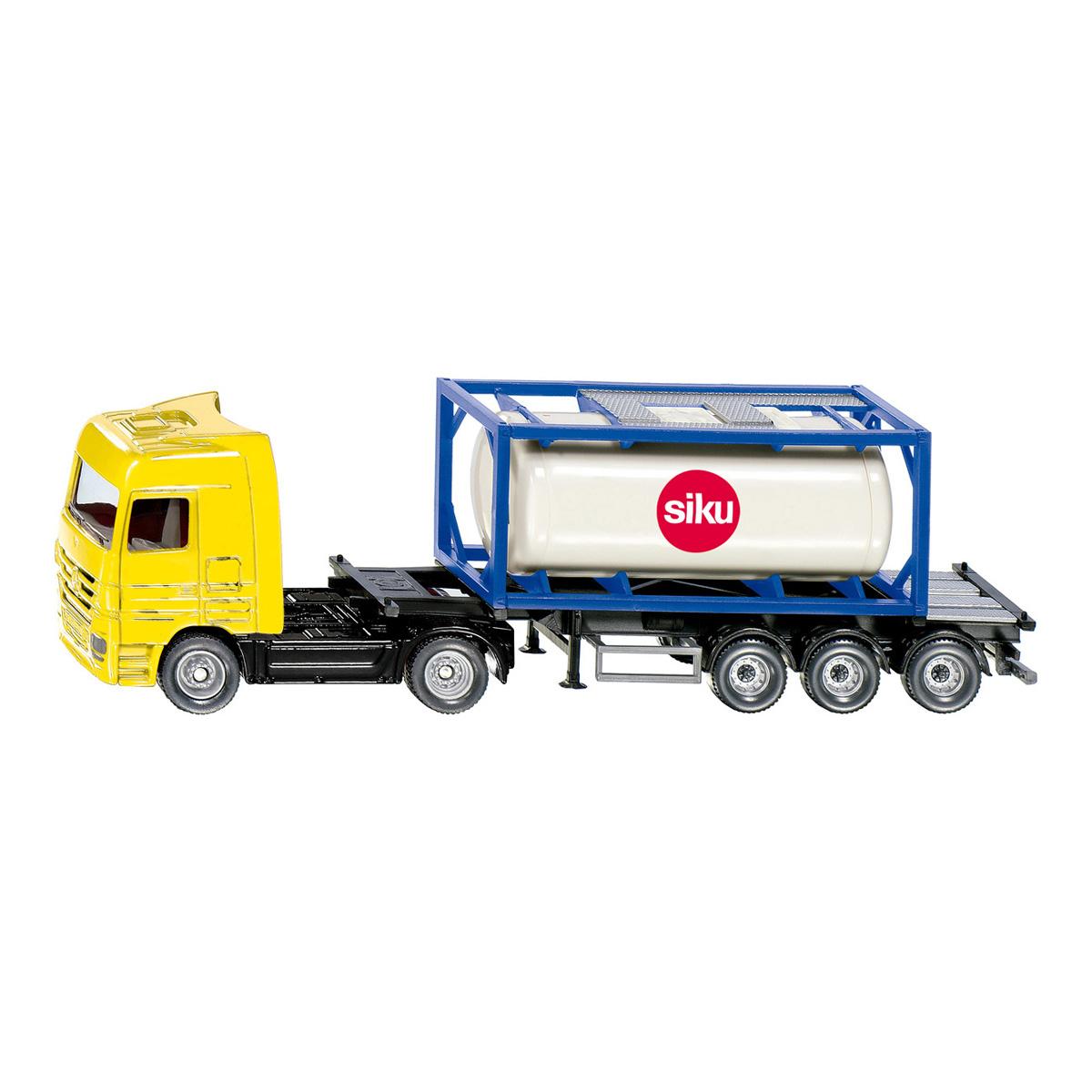 タンクコンテナ付きトラック (ジク・SIKU)1:87