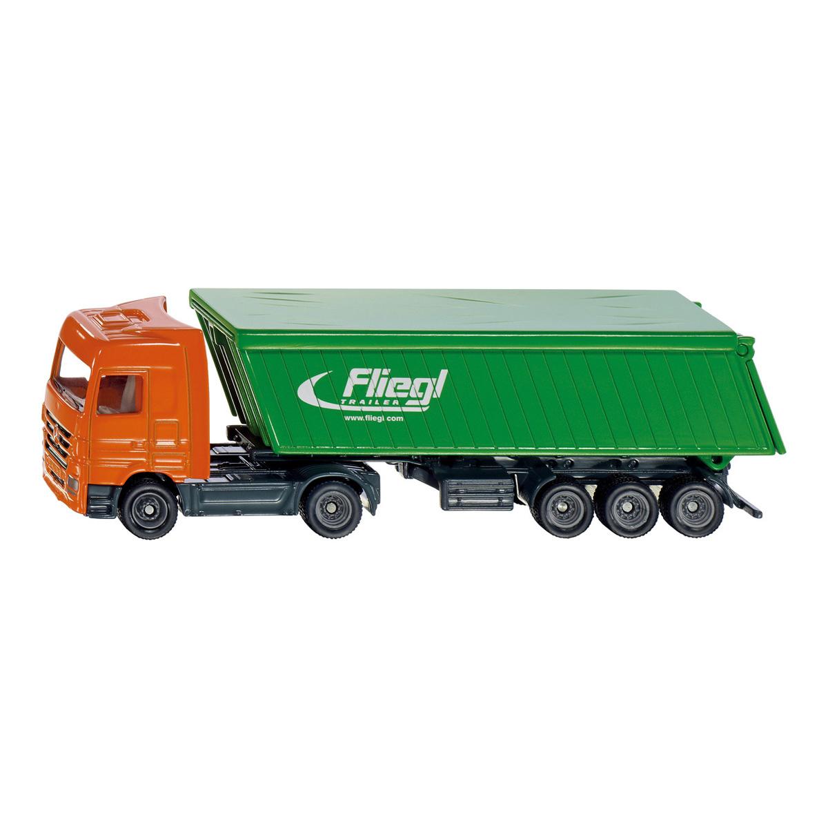 屋根付きトレーラートラック (ジク・SIKU)1:87