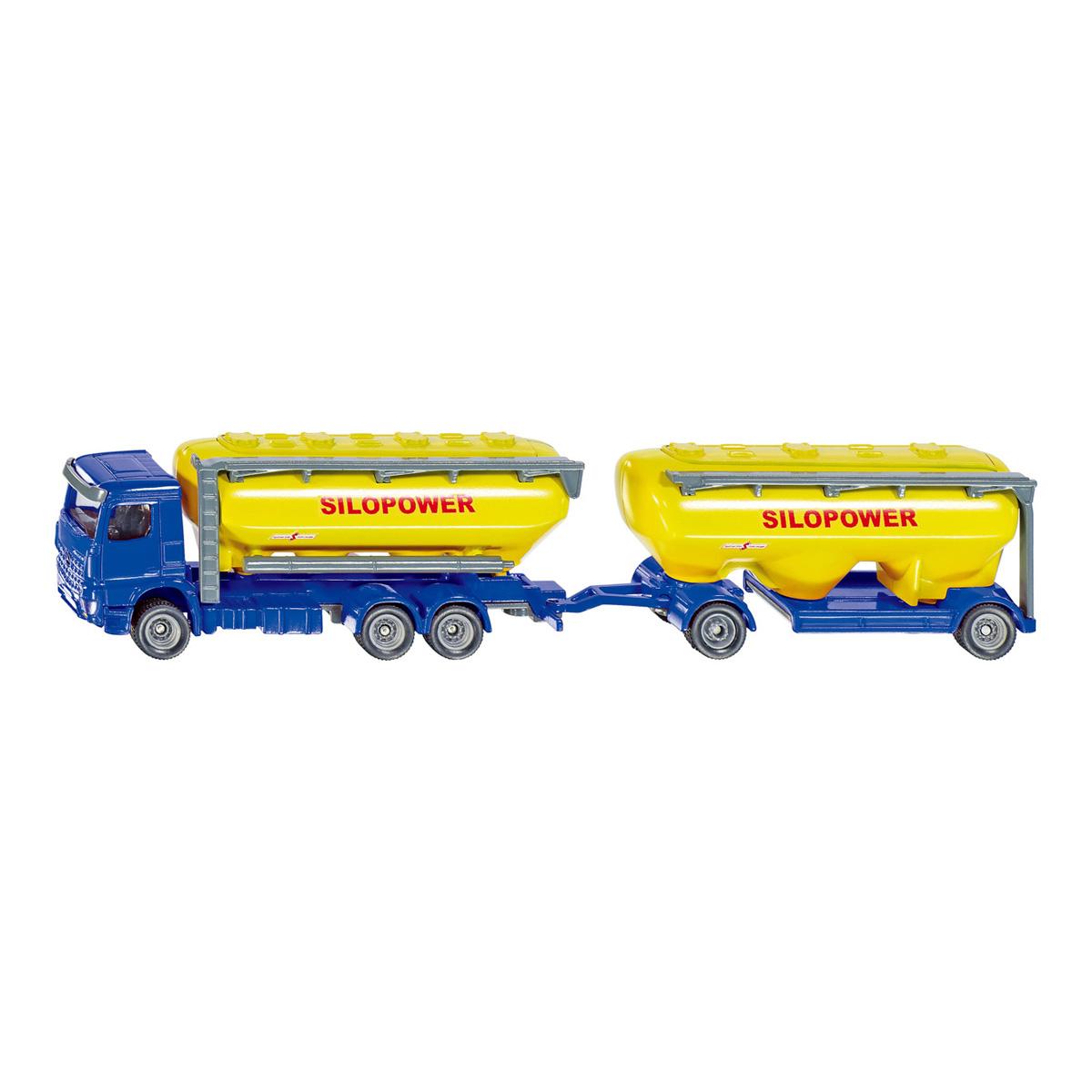 truck with feedstuff silo 1/87(ジク・SIKU)