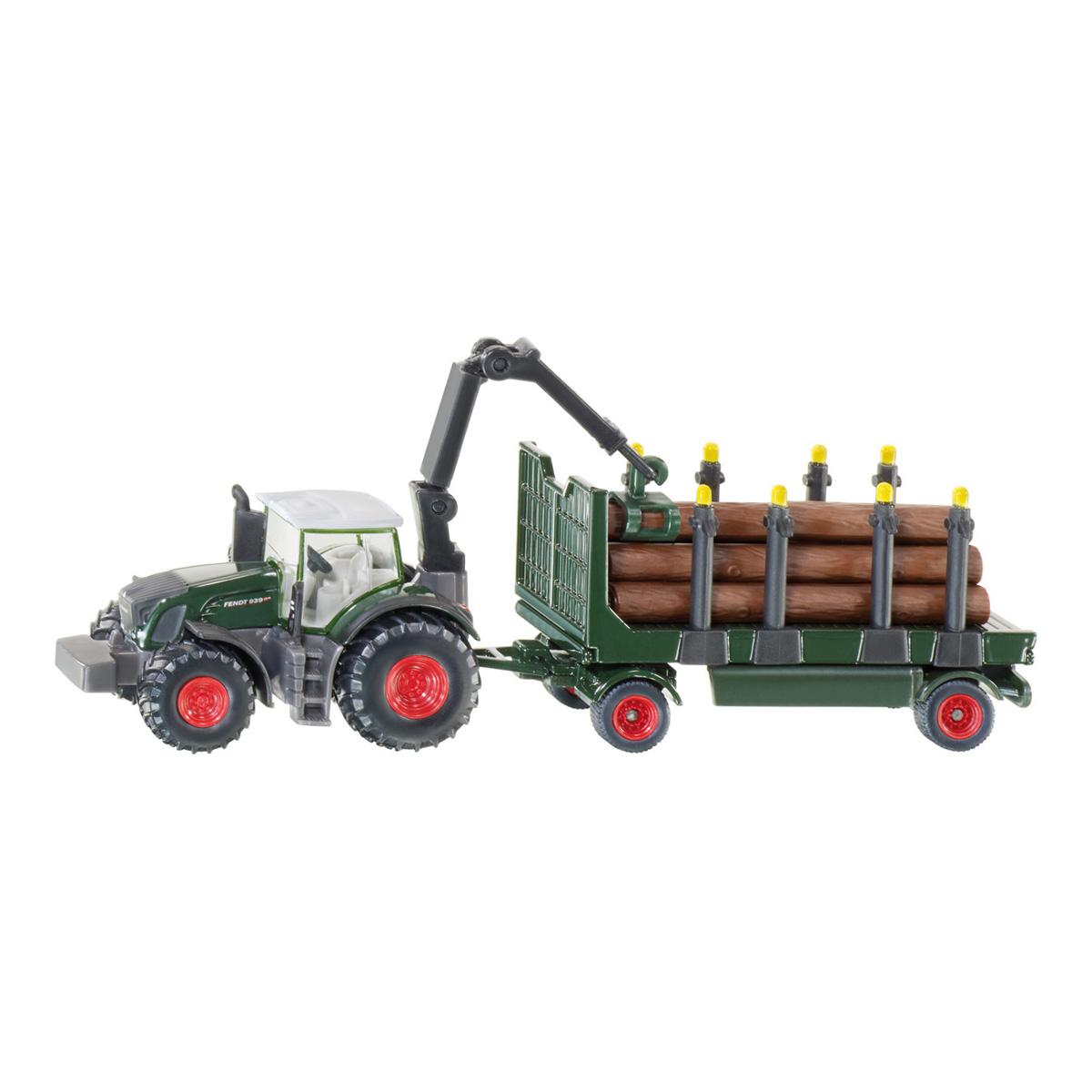 ファーマー 木材運搬トラクター 1/87(ジク・SIKU)