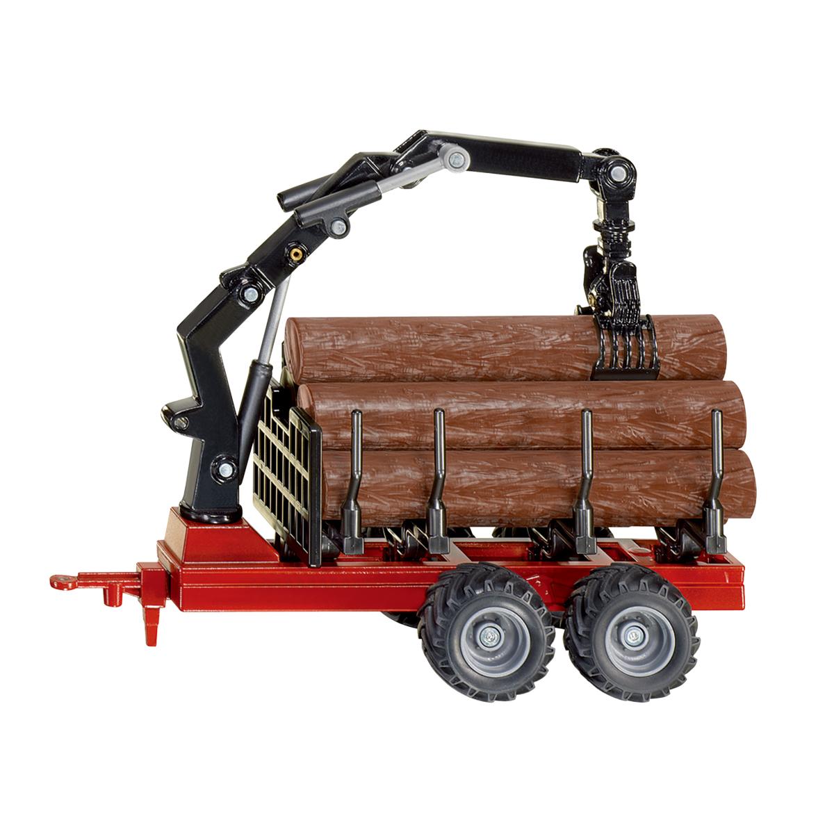 ファーマー 木材運搬用トレーラー 1/50(ジク・SIKU)