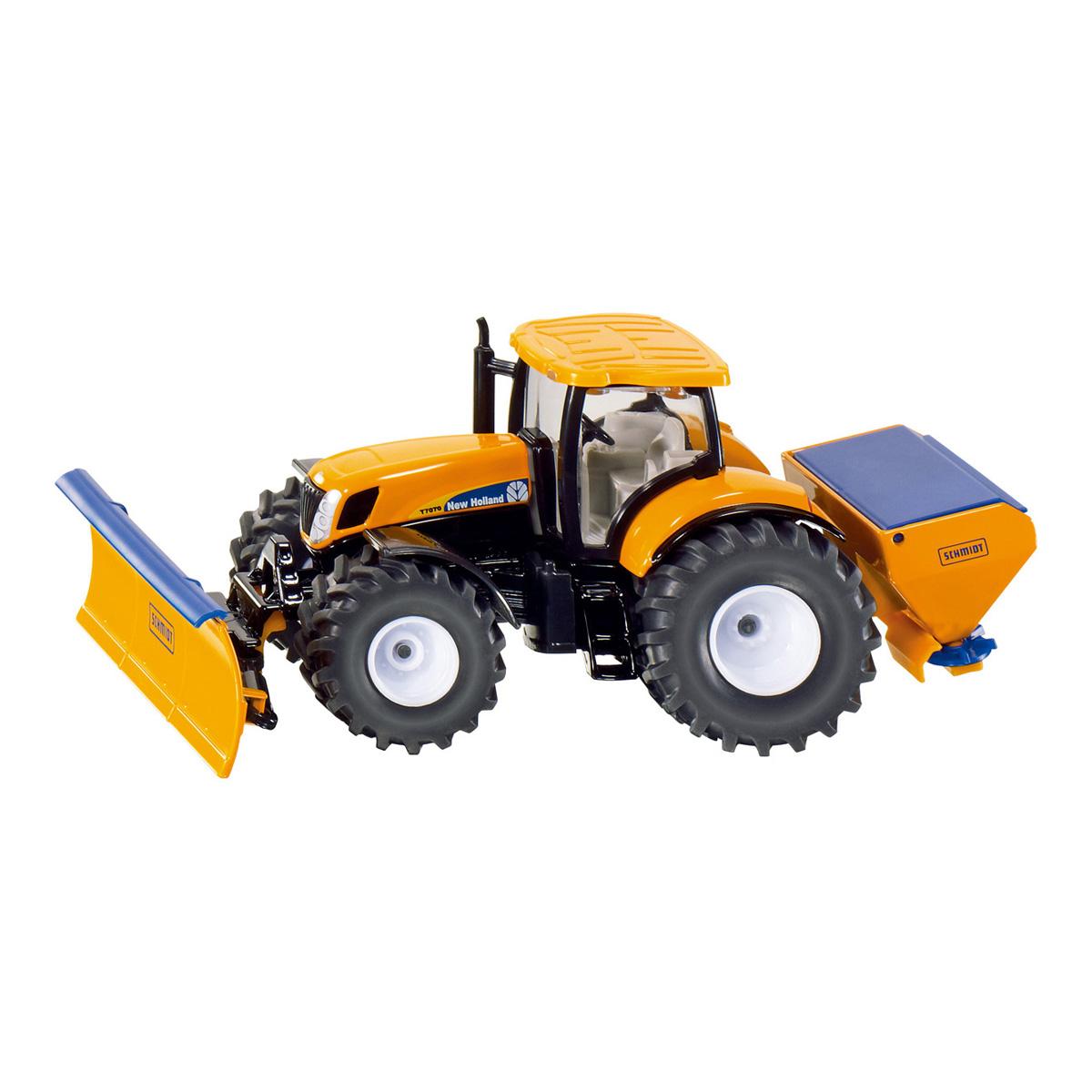ニューホランド 耕作プレート付きトラクター 1/50(ジク・SIKU)