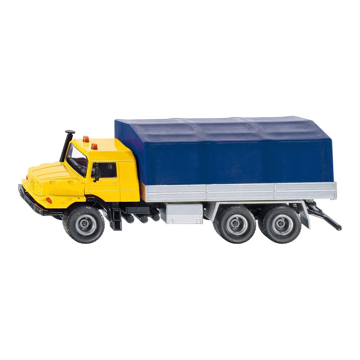 メルセデス・ベンツ ゼトロス 帆布トラック (ジク・SIKU)1:50