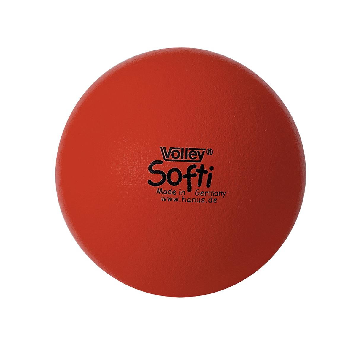 しわくちゃボール 150mm(赤)