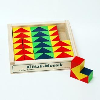キュービックパズル カラーモザイク 36ピース
