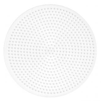 ハマビーズ ボードL 丸型(白)