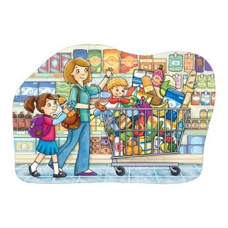 【売り切り次第終了】フロアーパズル ショッピングカート