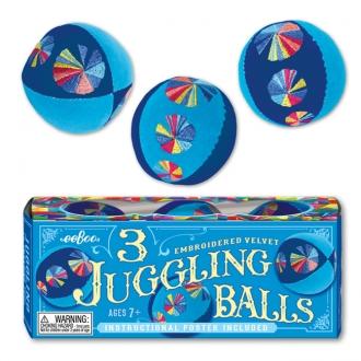 【売り切り次第終了】ジャグリングボール BLUE