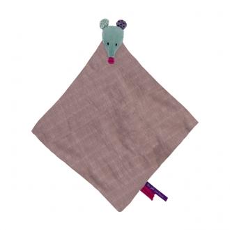 「ジョリ・パ・ブー」 ねずみのおしゃぶりタオル
