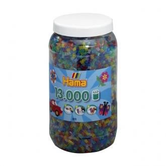 ハマビーズ ボトル 13000pcs ミックスラメ