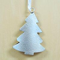 メタルオーナメント クリスマスツリー(柄入り)