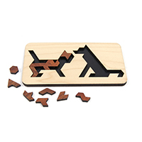 【売り切り次第終了】フレームパズル イヌ&ネコ