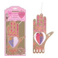 シークレット・メッセージカード ハートの手袋