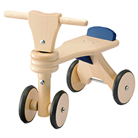 はじめての木製バイク