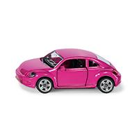 VW The Beetle pink(デコレーションシール付き)(ジク・SIKU)