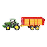 ジョンディア トラクター 牧草運搬用トレーラー付(ジク・SIKU)