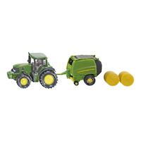 John Deere Tractor with Baler(ジク・SIKU)