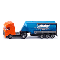 Truck with silo trailer(ジク・SIKU)1:87
