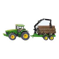 【在庫限り】トラクター with forestry trailler 1/50(ジク・SIKU)