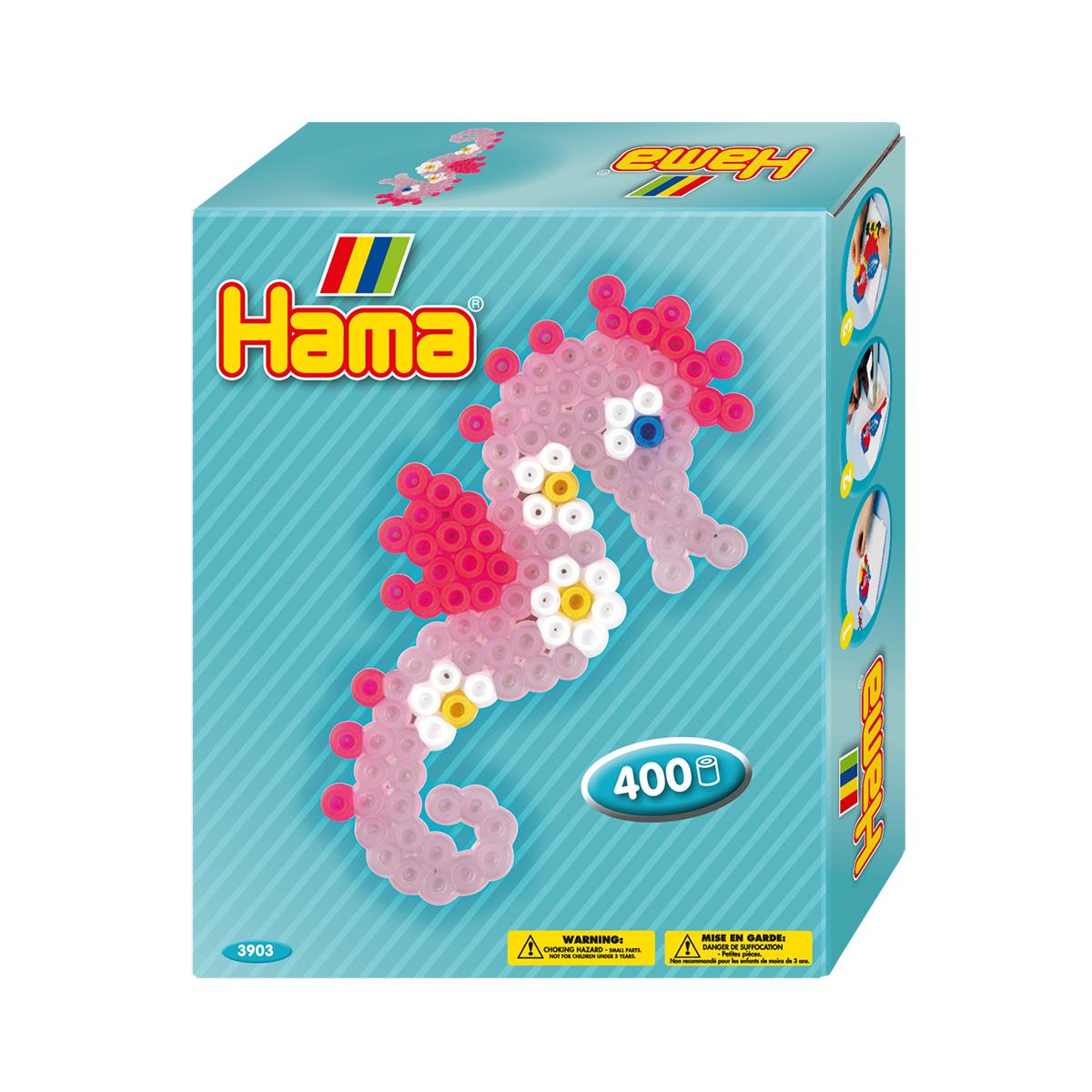 【在庫限り】ハマビーズミニボックス タツノオトシゴ