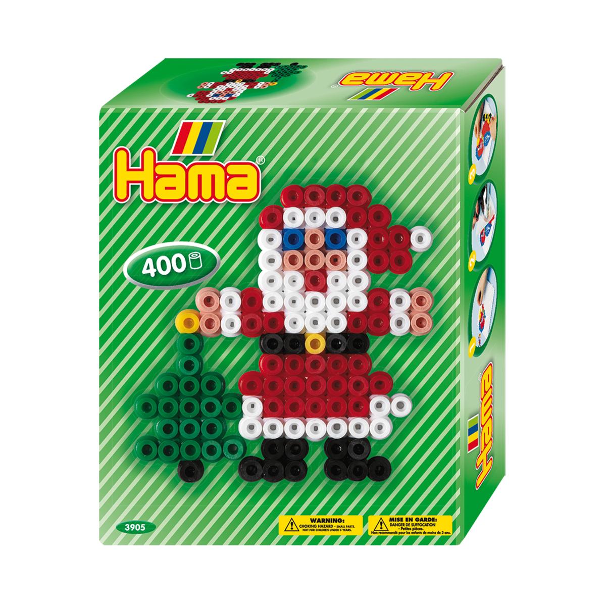 【在庫限り】ハマビーズミニボックス サンタクロース