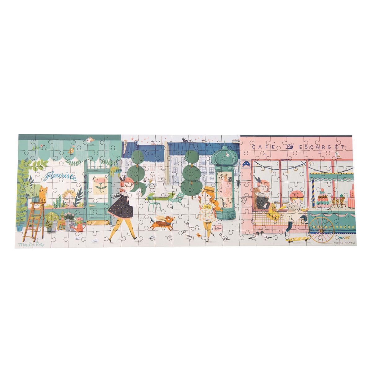 140ピースパズル パリの街角