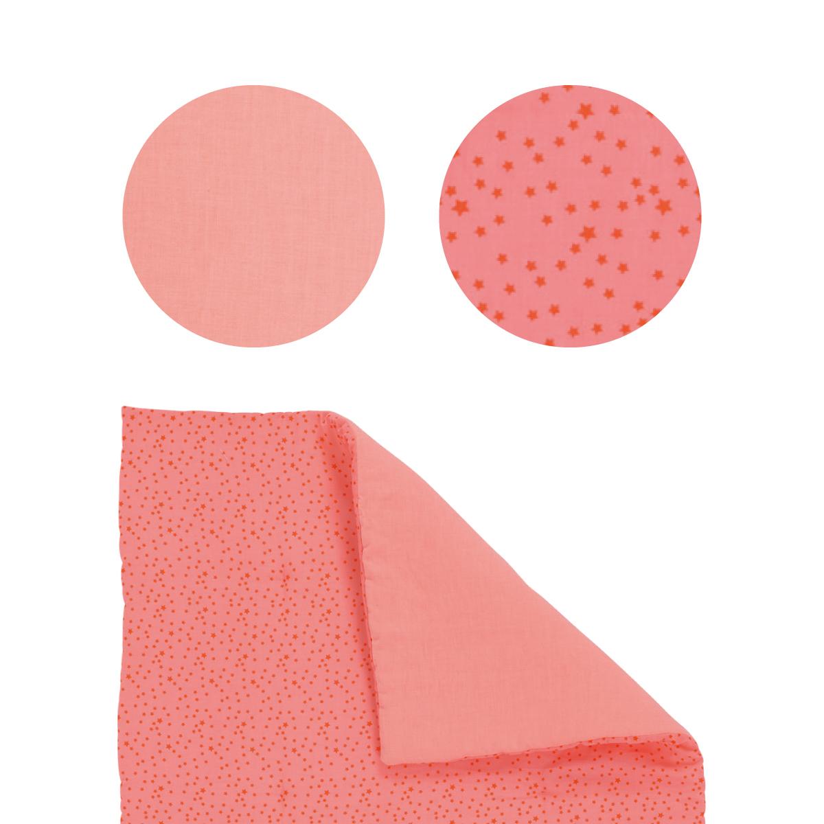 【50%OFF】「タルタンポア」星のベビーキルト(ピンク)