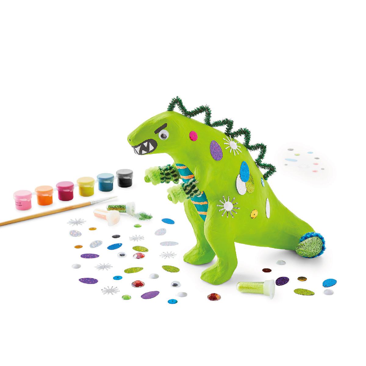 ペーパーマッシェ ペイントキット ティラノサウルス